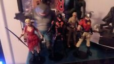 mcfarlane dc multiverse suicide squad all figures loose no box and king shark