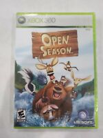 XBOX 360 OPEN SEASON-UBISOFT-BRAND NEW -SEALED IN EXCELLENT CONDITION!
