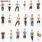 Toys For Children 1/6 Boy Doll Clothes For Ken Doll Outfits T-shirt Shorts Pants