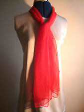 Scarf Unbranded 100% Silk Scarves & Shawls for Women