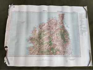 Bastia (12), carte seconde guerre, WW2