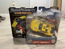 NIB Transformers Energon Hot Shot Deluxe Class