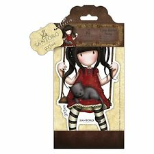 RUBY - SANTORO GORJUSS - LARGE RUBBER STAMP