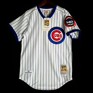 100% Authentic Andre Dawson Mitchell Ness 1987 Chicago Cubs MLB Jersey Size 40 M