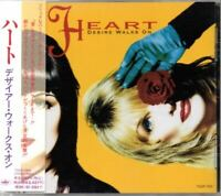 Heart ‎Desire Walks On JAPAN CD with OBI TOCP-7915