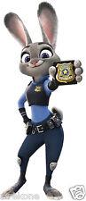Judy Hopps Bunny Rabbit of Walt Disney's Zootopia - Window Cling Decal Sticker