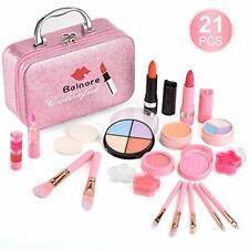 Jouet Enfant Maquillage Enfant Jouet Fille Coffrets Maquillage 21 Pcs Cadeau