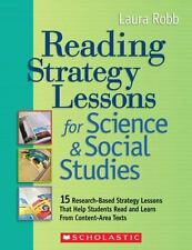 Reading Strategy Lessons for Science & Social Studies: 15 Research-Based Strateg