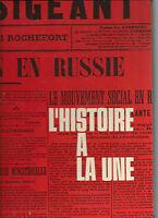 Histoire à la Une 1er Janvier 1900 7 Mai 1945 Librairie Jules Tallandier REF 16@