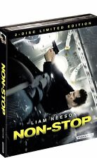 Non-Stop  -  Mediabook (Blu-ray & DVD & Booklet)  Liam Neeson