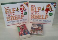 NEW LOT OF SCOUT ELF ON THE SHELF DARK skin BOY and GIRL w/ BOOKS MOVIE OUTFIT