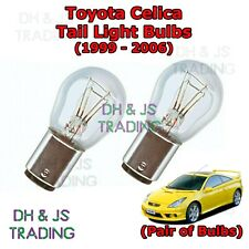Toyota Celica Tail Light Bulbs Pair of Rear Tail Light Bulb Lights (99-06)