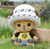 Anime One Piece Trafalgar Law Plush Toy Stuffed Toys Doll 30CM Cosplay Gift