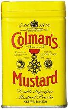 Colman'S ORIGINALE INGLESE polvere di mostarda 57g