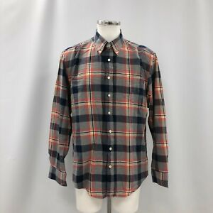 Gant Shirt Mens Size UK XL Multicoloured Long Sleeve Button Up Casual 110179