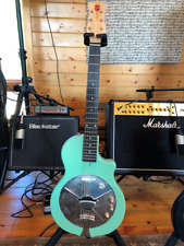 National Guitars Resolectric Res-O-Tone, Green