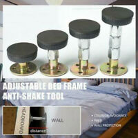 Room Wall Metal Adjustable Threaded Bed Frame Anti-shake Tool Telescopic Support