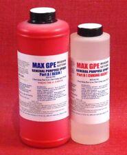 EPOXY RESIN RED GEL COAT 4 BOATS MOLDS & TOOLS BONDS 2 METAL WOOD FIBERGLASS 48!
