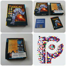 Turrican A Rainbow Arts Game for the Commodore Amiga Computer tested&working GC