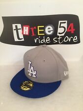New Era LA 59fifty Flexfit Cap American Rare Skateboard Surfing Punk Rock Hat
