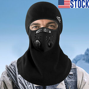 Winter Balaclava Full Face Mask Windproof Fleece Ski Warm Bicylce Mask Outdoor