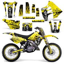 Graphic Kit Suzuki RM 125 RM 250 Dirt Bike Decal MX Motocross Deco 90-92 REAP Y