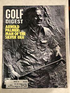 Arnold Palmer 1975 Golf Digest Magazine signed autographed LOA Beckett BAS