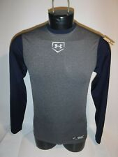 #8911 Ua Under Armour Ls Baseball Workout Layer Top Men'S Small Preowned