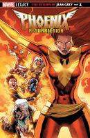 Phoenix Resurrection #1 (3D Lenticular Variant / Legacy / X-Men / 2017 / NM)