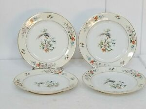 Heinrich H&C Selb Bavaria SONGBIRD Salad Plates Lot of 7