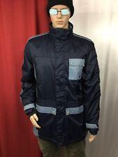 adidas ORIGINALS Utility Rain Storm Waterproof Jacket Firebird Coat mens L XL
