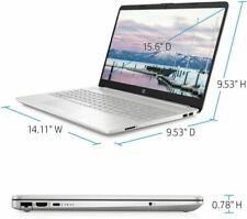 "HP Core i3 15.6"" Laptop 128GB 4GB 15-dw1024wm , BOX DAMA"