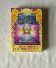 Angel Answers Oracle Cards deck ORIGINAL by Doreen Virtue & Valentine