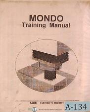 Elox Agie Mondo Training, K EDM Manual 1996