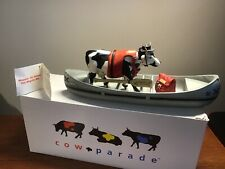 Westland Gifware Cow Parade - Moovin' Down The Mighty Mo. #9138
