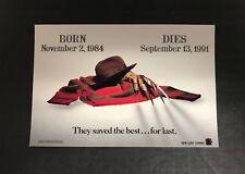 FREDDY'S DEAD: THE FINAL NIGHTMARE Movie Promotional Post Card Freddy Krueger