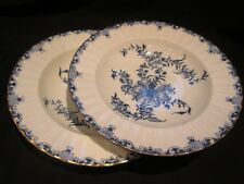 "ROYAL WORCESTER  MANSFIELD  PAIR OF SOUP / PASTA BOWLS  9.1/8"" IN DIAM 1950/60"
