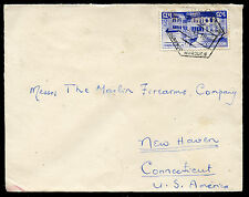 MOZAMBIQUE 1945 COVER to CONNECTICUT