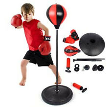 Adjustable Sport Boxing Set Punching Bag With Gloves | Punching Ball for Kids