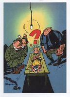 Carte Postale Trésors du Journal de Spirou n°64 Couverture allbum 83. FRANQUIN