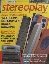Stereoplay 2/02 Thule Ia 350, comedero swing, Sony DAV 800, grado statement/Master