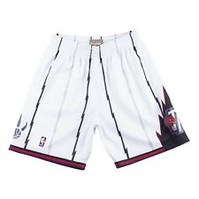 Toronto Raptors Mitchell & Ness White Hardwood Classics Swingman Shorts Large