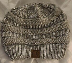 C.C Exclusives Women's Chenille Soft Warm Thick Knit Beanie Cap Hat