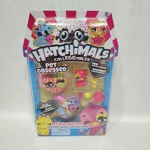 HATCHIMALS COLLEGGTIBLES  Pet Obsessed Pet Shop Multi Pack New Hatchy Hearts