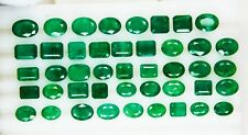 73.255 Ct  Fine Natural Emerald Mix Zambia Wholesale Parcel LooseGem Stone