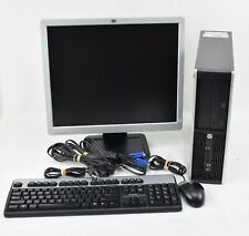 "Hp Compaq 6200 Pro Sff Desktop Computer Pentium Windows 10 System w/ 19"" Monitor"
