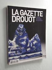 La Gazette Drouot Biennale de Lyon, Félix Vallotton  N° 37 du 1er Novembre  2013