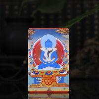 Tibetan Buddhism  Exquisite painting Amulet thangka Adi Buddha