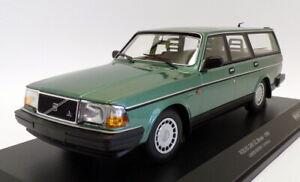 Minichamps 1/18 Scale 155 171410 - 1986 Volvo 240 GL Break - Met Green