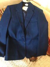 """Ex John Lewis stunning Women's/girls Royal 100% wool Blazer size 14 (91cm/36"""")"""